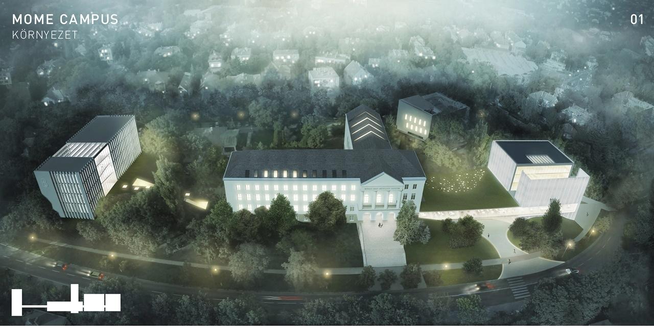 A 3h Építésziroda I. helyezett tervei