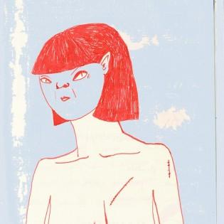 Pages: oldalak Muszka Máté Gergő sketchbookjából