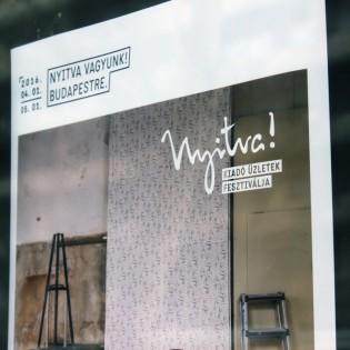 Nyitva Fesztivál – Open! Festival of Vacant Shops