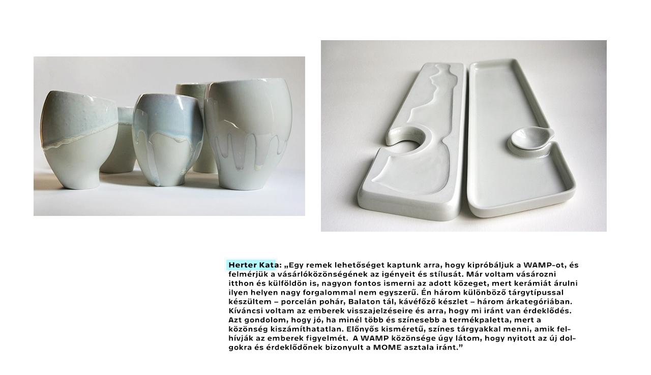 Herter Kata (MA2) | Cristalcup és Balaton tál |MOME Design | WAMP | 2016 | © Moholy-Nagy Művészeti Egyetem