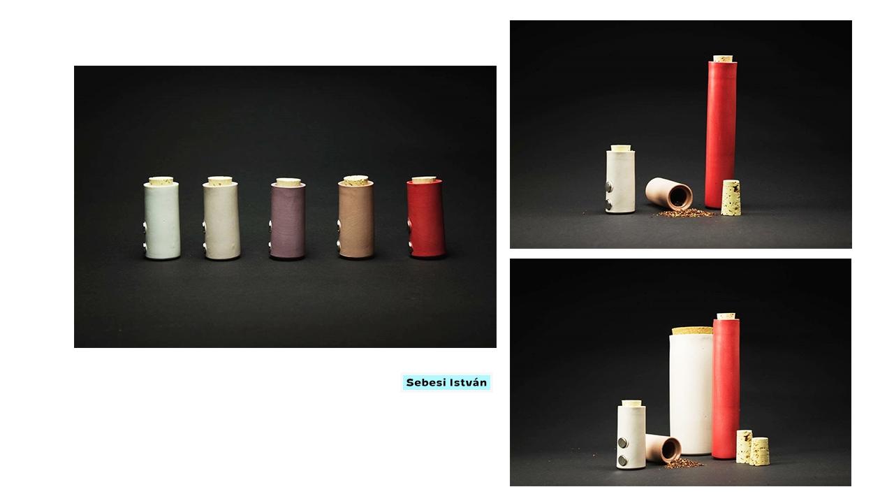 Sebesi István (BA2) | Fűszertartók |MOME Design | WAMP | 2016 | © Moholy-Nagy Művészeti Egyetem