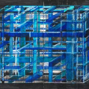 Pages: Rajzok Huber Ákos építész vázlatfüzetéből
