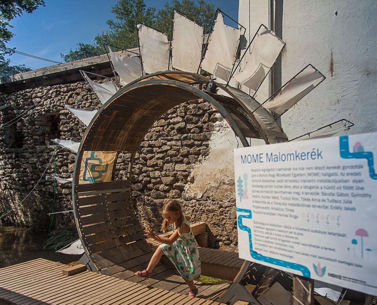 MOME Malomkerék | Kapolcs | Művészetek Völgye 2016 | fotó: Tőkés Tamás | © Moholy-Nagy Művészeti Egyetem