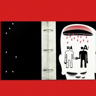 Kétkilós DADA-kiadvány Borbás Mártontól