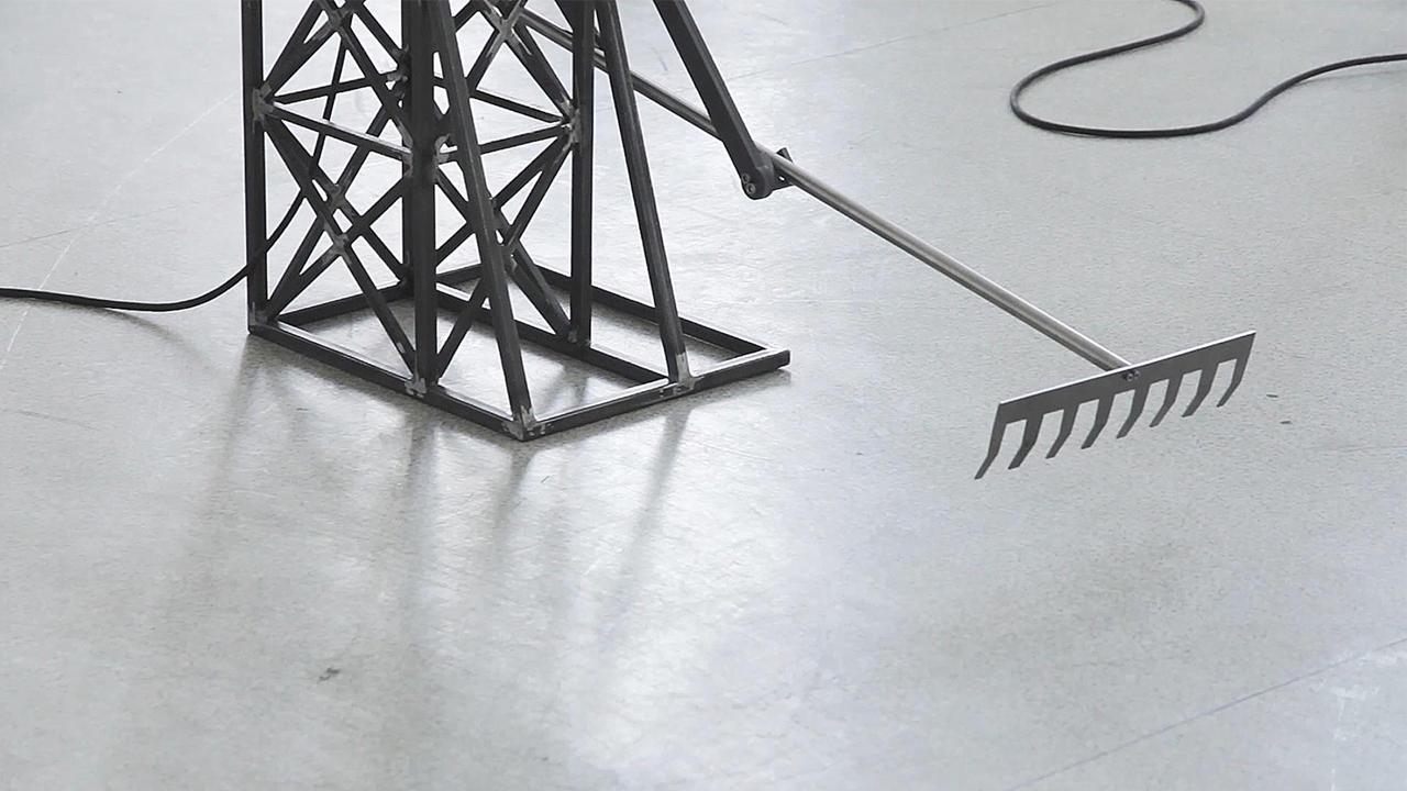 Pálfalusi Attila | FARM | kinetikus installáció | 2016