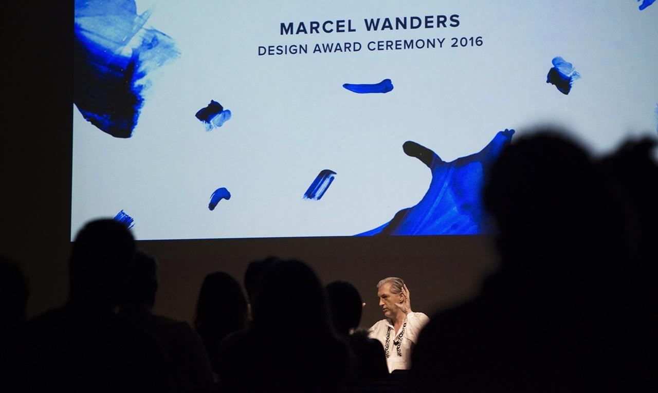 Marcel Wander at Moholy-Nagy University of Art and Design Budapest | 2016 | photo: Gábor Tasi