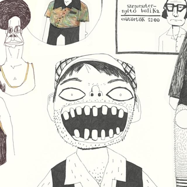 Itt történik a varázslat – Bogyó Péter animáció szakos hallgató sketchbookja