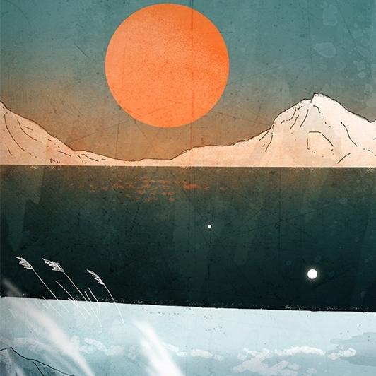 Animációs klip az északi fény születéséről