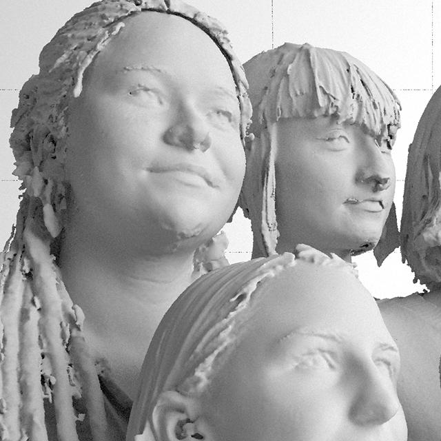 Adatból faragott portrék – Így készülnek a 3D-nyomtatott fejek